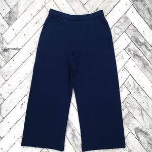 St. John Pants - St. John Santana Knit Cropped Pants